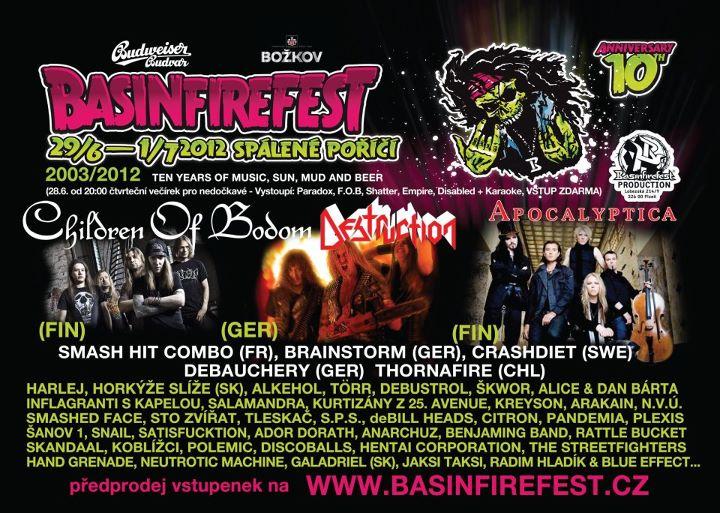Basinfirefest poster